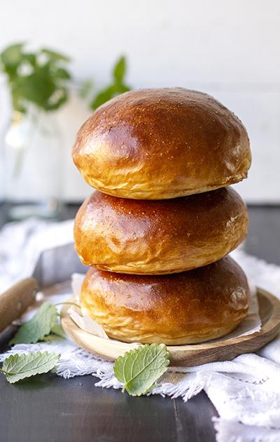 Verdens beste brioche hamburgerbrød