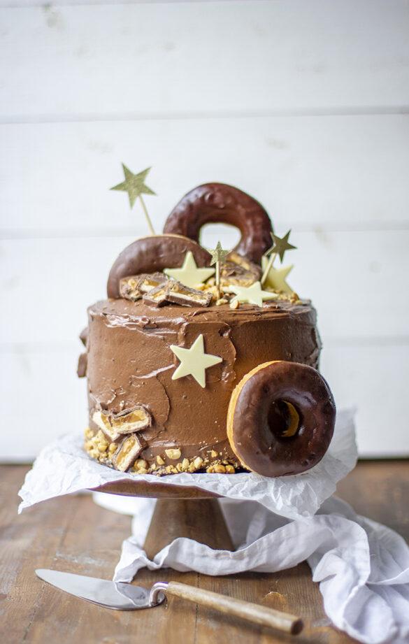 Sjokoladekake med Snickers